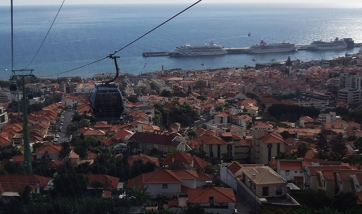 Seilbahn von Monte nach Funchal