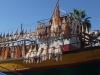 Fischerboot mit Trockenfisch