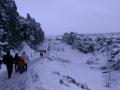 Winterspaziergang in der Almannagjá